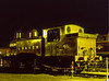 E4 class No. 473 under the yard lights at Sheffield Park, on 26th October 2002.