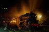 """Black five 45379 making its booked stop at Ropley with the """"Watercress Belle"""" dining train. 3rd November 2012."""