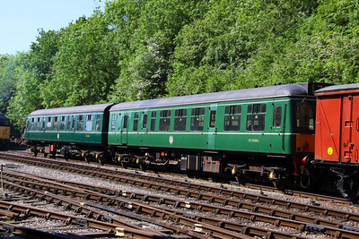 52006 & 52025 (Class 107 DMU) at Bitton 26/05/12