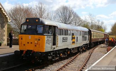 31130 arrives into Bitton on: 13:05 Avon Riverside to Oldland Common  11/04/15
