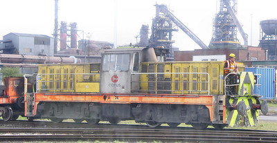 No 74 in Scunthorpe Steelworks 02/04/11