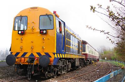 20066 in the Appleby & Frodington Railway's Entrance Platform 02/04/11