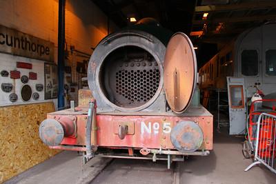 No 5 in the Appleby & Frodington Railway's Depot 02/04/11