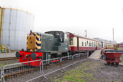 D2853 in the Appleby & Frodington Railway's Depot Platform 02/04/11