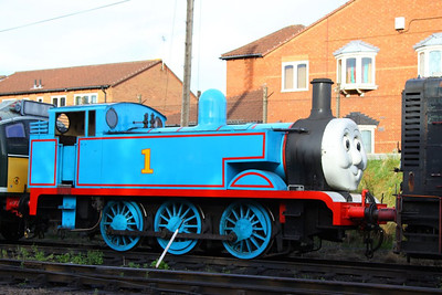 Thomas The Tank Engine in Loughborough  08/09/12