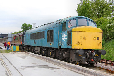 46010 departs Rushcliffe Halt 15/05/11