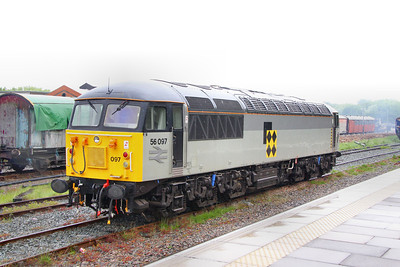 56097 in Ruddington Station 15/05/11