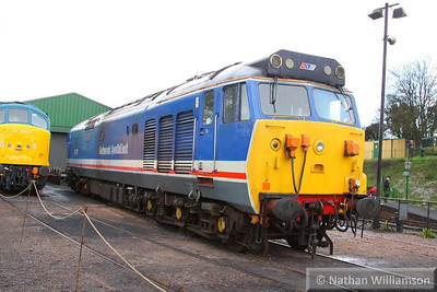 50027 stables in Ropley  26/04/13