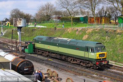 D1501 (47402) in Ropley  27/04/13