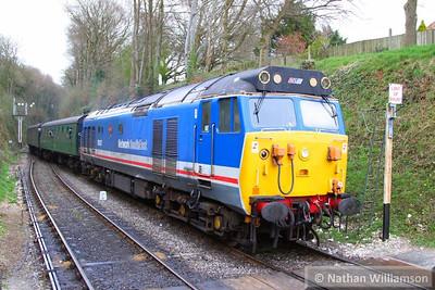 50027 arrives into Medstead on the: 14:50 Alton to Alresford  26/04/13