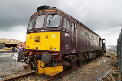 33207 on display in York Railfest  06/06/12