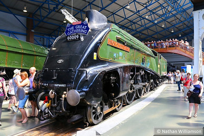 "60009 (4488) ""Union of South Africa"" on display in the National Railway Museum  09/07/13"