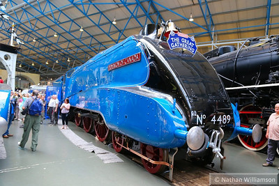 "4489 (60010) ""Dominion of Canada"" on display in the National Railway Museum  09/07/13"