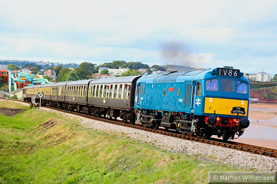 D7535 departs Goodrington working the: 17:30 Paignton Queens Park to Kingswear 16/08/14  Watch the video at: http://youtu.be/_WRSjJBbMkk
