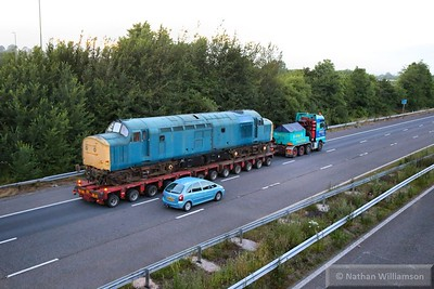 Preserved Loco's on the Road