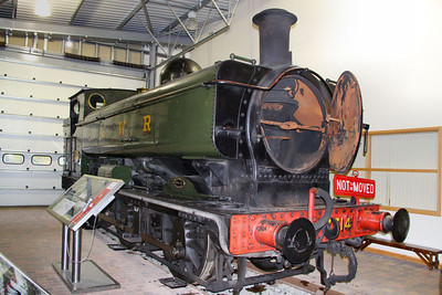 7714 in The Engine House at Highley 08/10/11