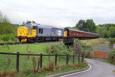 37906 arrives into Highley 08/10/11