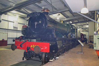 4930 in The Engine House at Highley 08/10/11