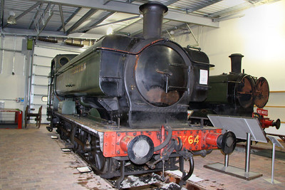 5764 in The Engine House at Highley 08/10/11