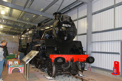 80079 in The Engine House at Highley 08/10/11