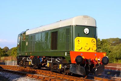 D8110 runs round in Totnes Littlehempston  15/09/12