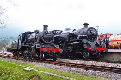 78019 runs round 80072 in Totnes  07/04/12  Watch the video at: http://youtu.be/AHZdgq-wK50