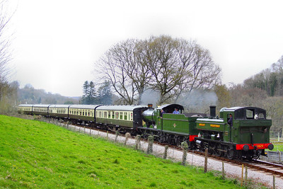 1369 & 3205 head south through Nursery Pool forming the: 15:35 Buckfastleigh to Totnes Littlehempston   08/04/12  Watch the video at: http://youtu.be/K0psfxJfsh4