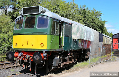 25191 under restoration in Buckfastleigh  11/08/13