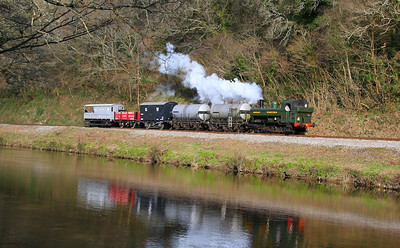 1369 heads south along the River Dart passing Dartington on the: 15:35 Bishops Bridge to Totnes Littlehempston 30/03/13  Watch the video at: http://youtu.be/zRcSGCoustg