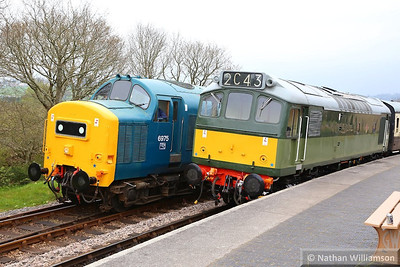 D7612 & 37275 in Totnes Littlehempston  20/04/14