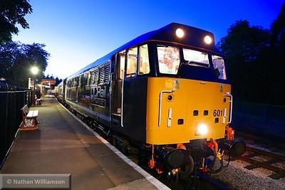 31601 in Buckfastleigh ready to work: 22:05 Buckfastleigh to Totnes Littlehempston  23/05/15