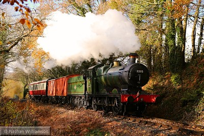 3205 passes through Wortley Copse 08/12/14  Watch the video at: http://youtu.be/2_u2J7T_2dg