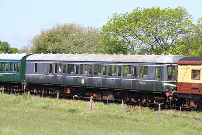 Class 117 DMBS No 51346 stored at Harmans Cross 08/05/11