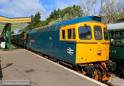 33202 on the blocks in Swanage  11/05/14