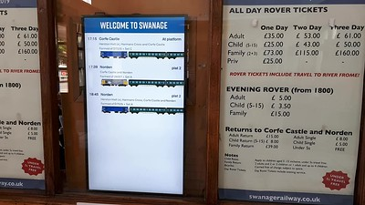 Video - Swanage Departure Screen