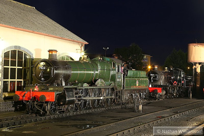 7822 Foxcote Manor / 7827 Lydham Manor in Minehead during an evening photo shoot organised by Don Bishop.  05/10/13