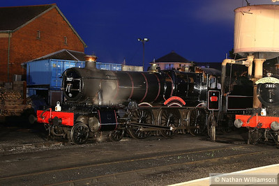 7827 Lydham Manor in Minehead during an evening photo shoot organised by Don Bishop.  05/10/13