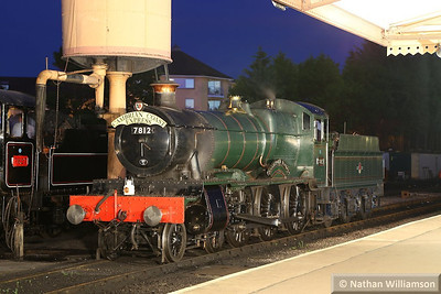 7812 Erlestoke Manor in Minehead during an evening photo shoot organised by Don Bishop.  05/10/13