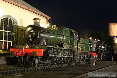 7822 Foxcote Manor in Minehead during an evening photo shoot organised by Don Bishop.  05/10/13