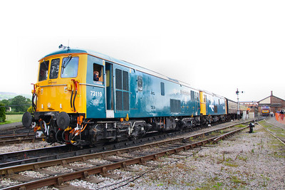 73119 & 73207 call at Williton on the: 11:55 Bishops Lydeard to Minehead  17/06/12