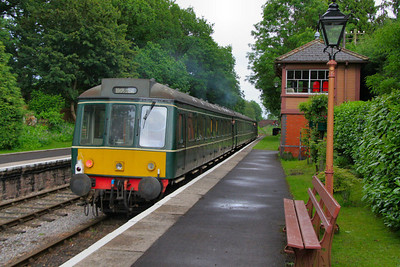 51880 departs Crowcombe Heathfield on the: 18:45 Minehead to Bishops Lydeard   16/06/12