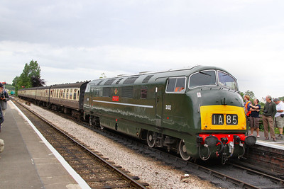 D832 calls at Williton working the: 15:45 Minehead to Bishops Lydeard  17/06/12