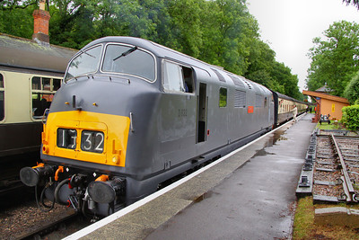 D832 calls at Crowcombe Heathfield working the: 17:00 Bishops Lydeard to Minehead 12/06/11