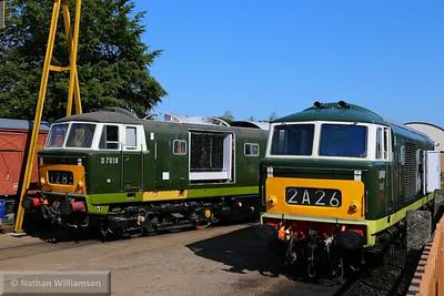 D7017 & D7018 at Williton  07/06/15