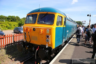 56006 in the bay at Bishops Lydeard  07/06/15