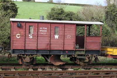 GSWR 10T Ballast Prough 8452 at Downpatrick on 17.03.12.