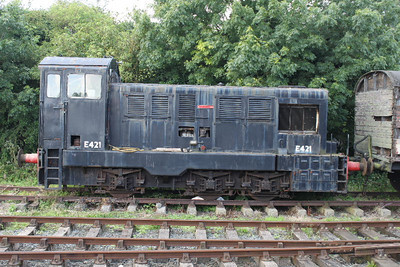 E421 at Downpatrick on 04.08.12.