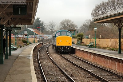 45941 returns from East Grinstead