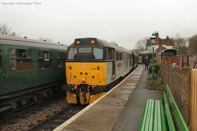 31271 with what would be the first train of the day to reach East Grinstead