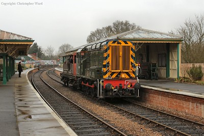 The 09 pulls away from Kingscote